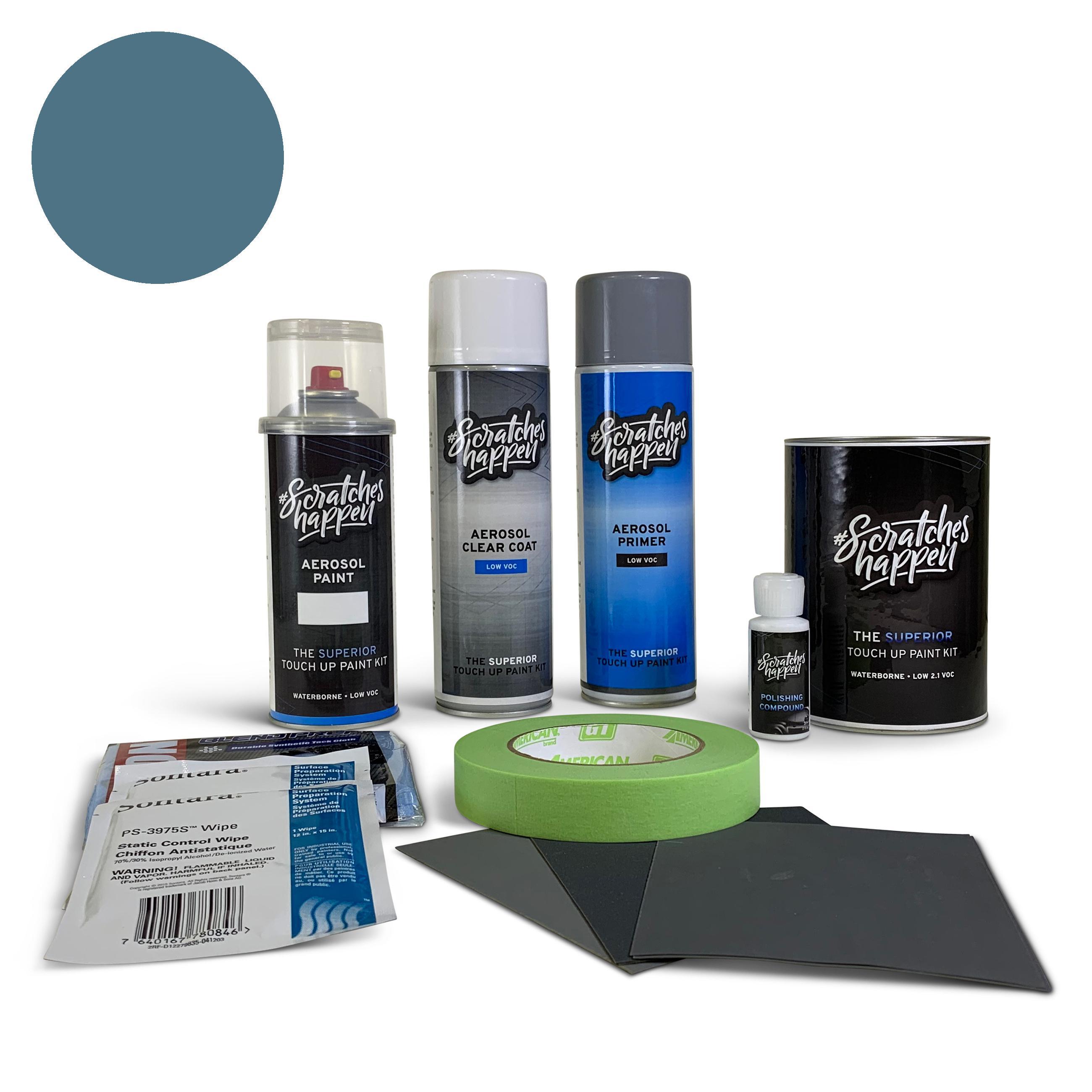 Hyundai Athens Blue (YU6) Touch Up Paint